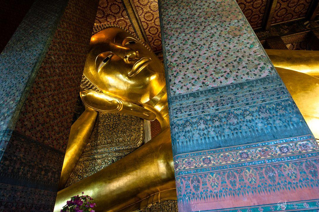 Bouddha géant du Wat Phot à Bangkok
