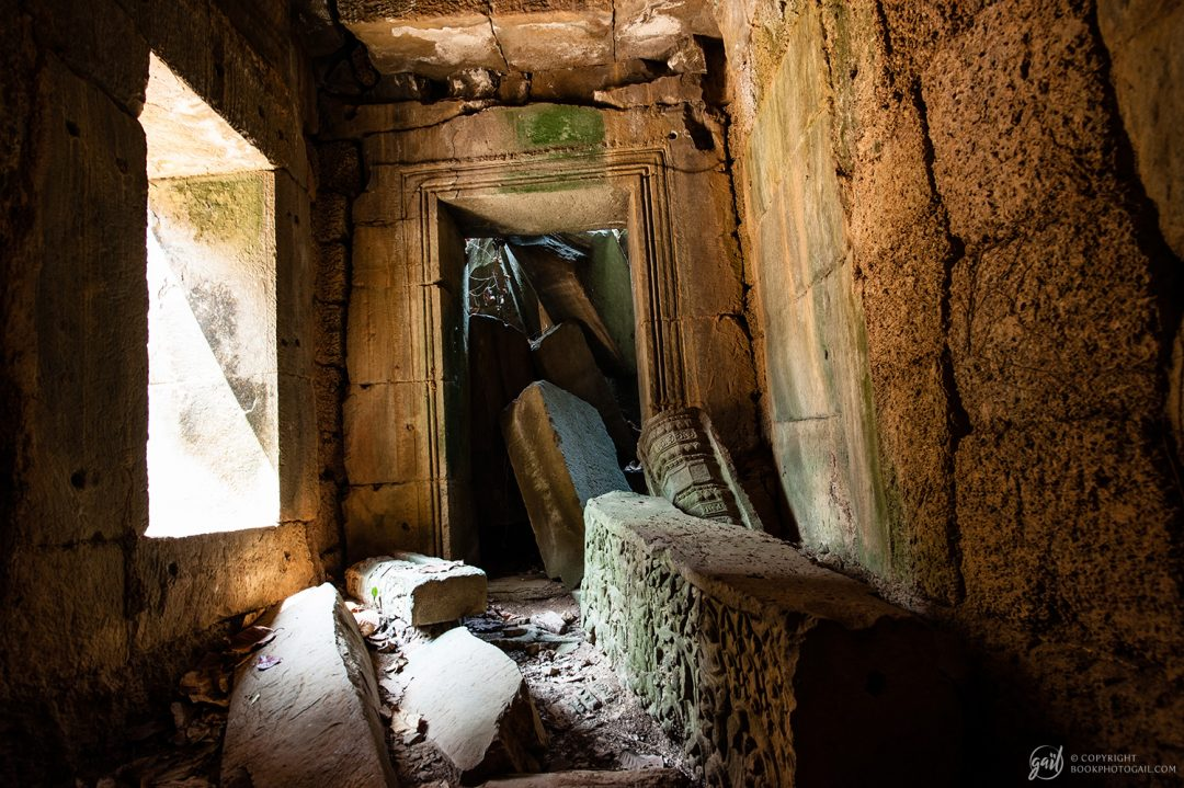 Intérieur du temple de Preah Khan