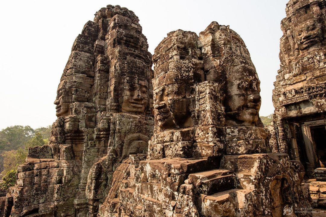 Le Bayon du temple d'Angkor Thom
