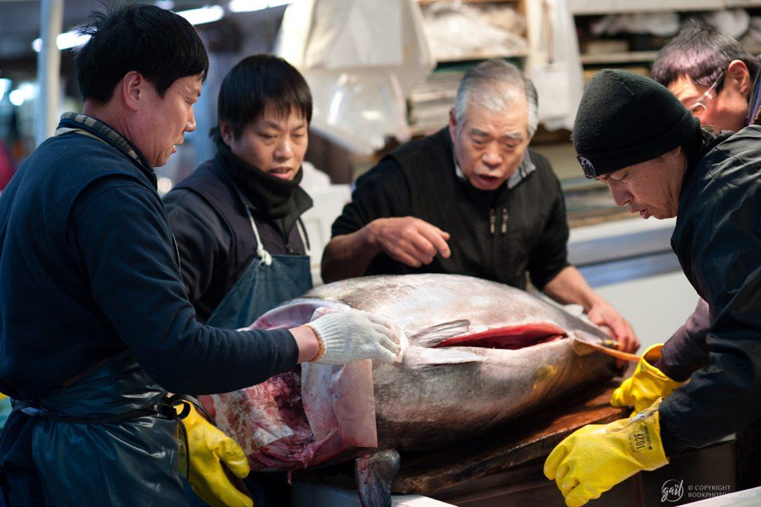 Marché au poisson de Tsukiji, Tokyo