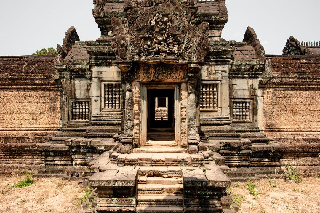 Porte du temple de Banteay Samre