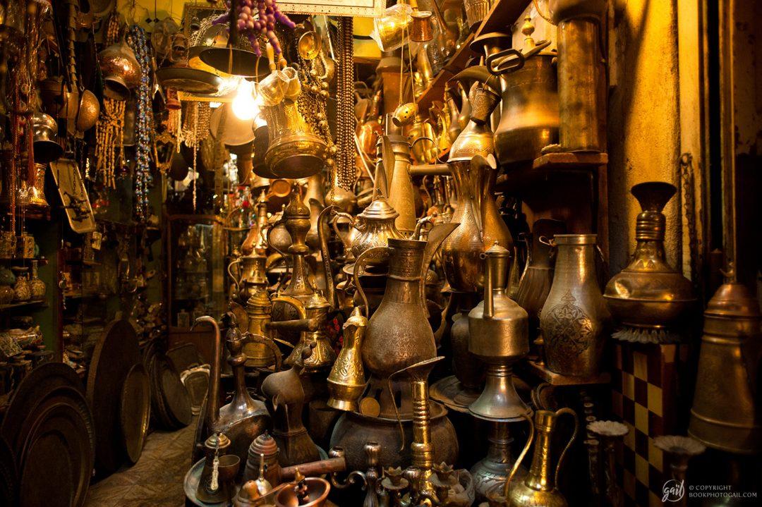 Marché dans la vieille ville de Jérusalem