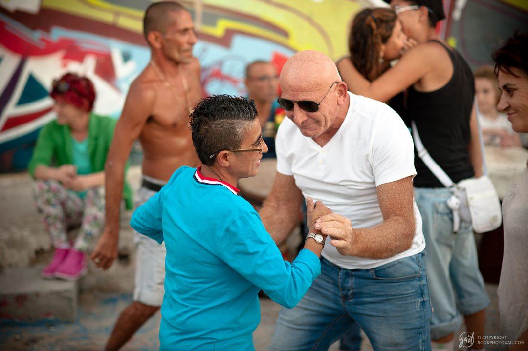Scène de rue à Tel Aviv