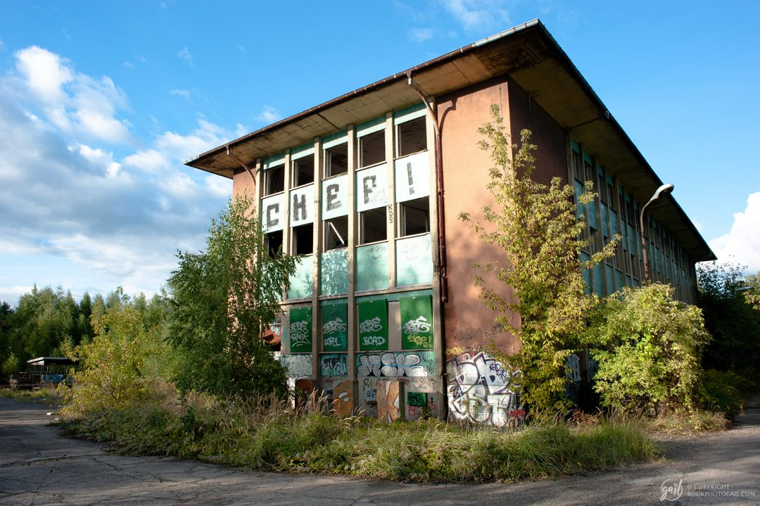 La gare de triage abandonnée de Pankow, Berlin