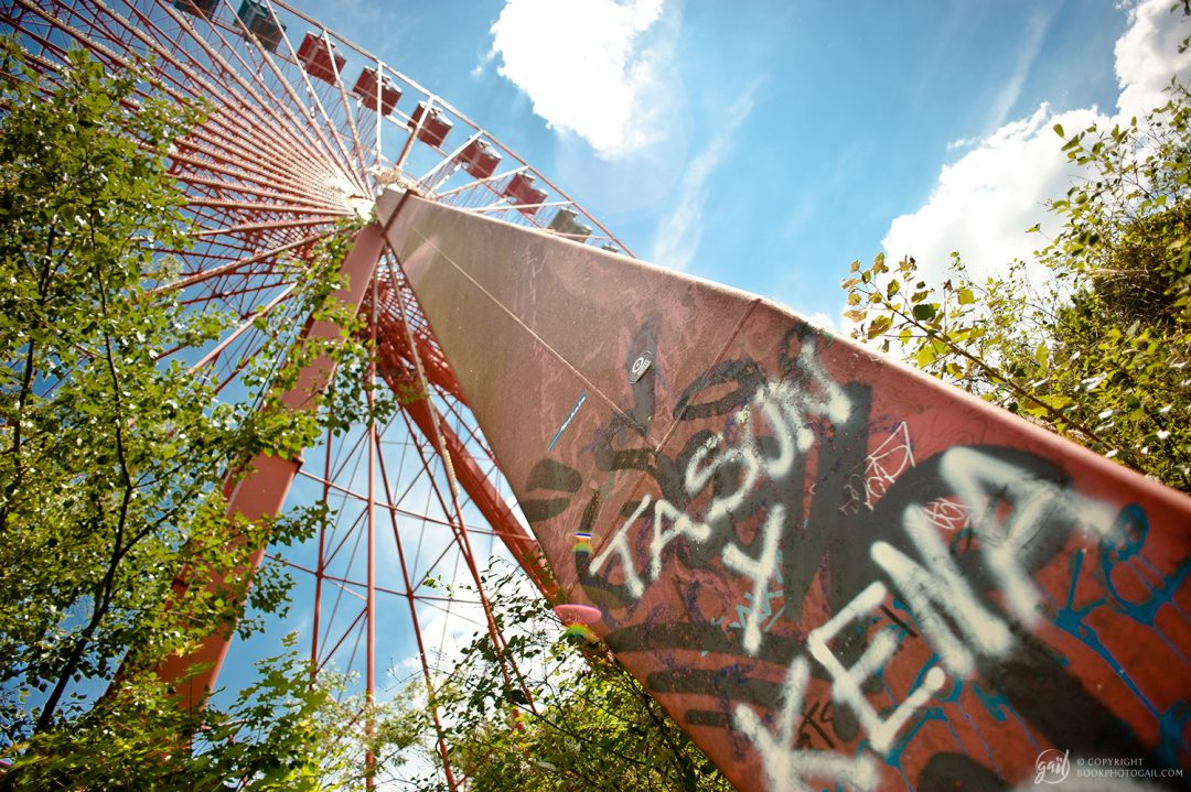Le parc d'attraction abandonné Spreepark, Berlin