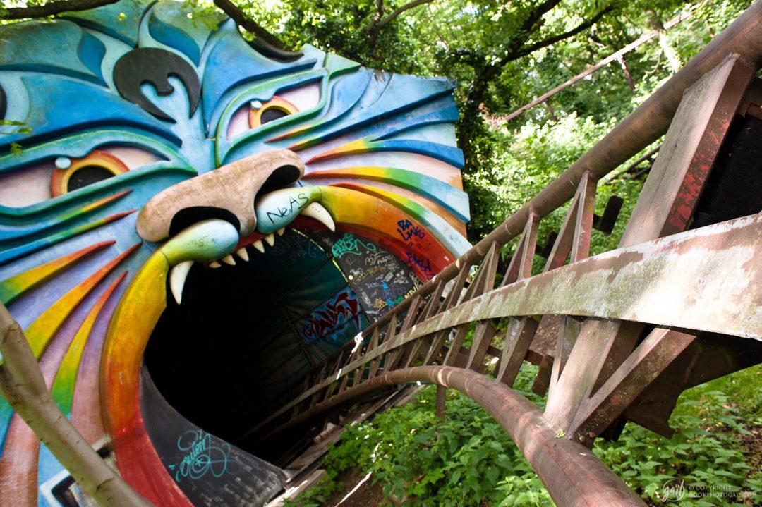 Le parc d'attraction abandonné Spreepark, Berlin