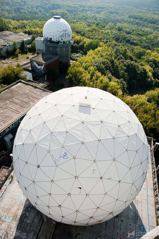 La station d'écoute de la CIA abandonnée de Teufelsberg, Berlin