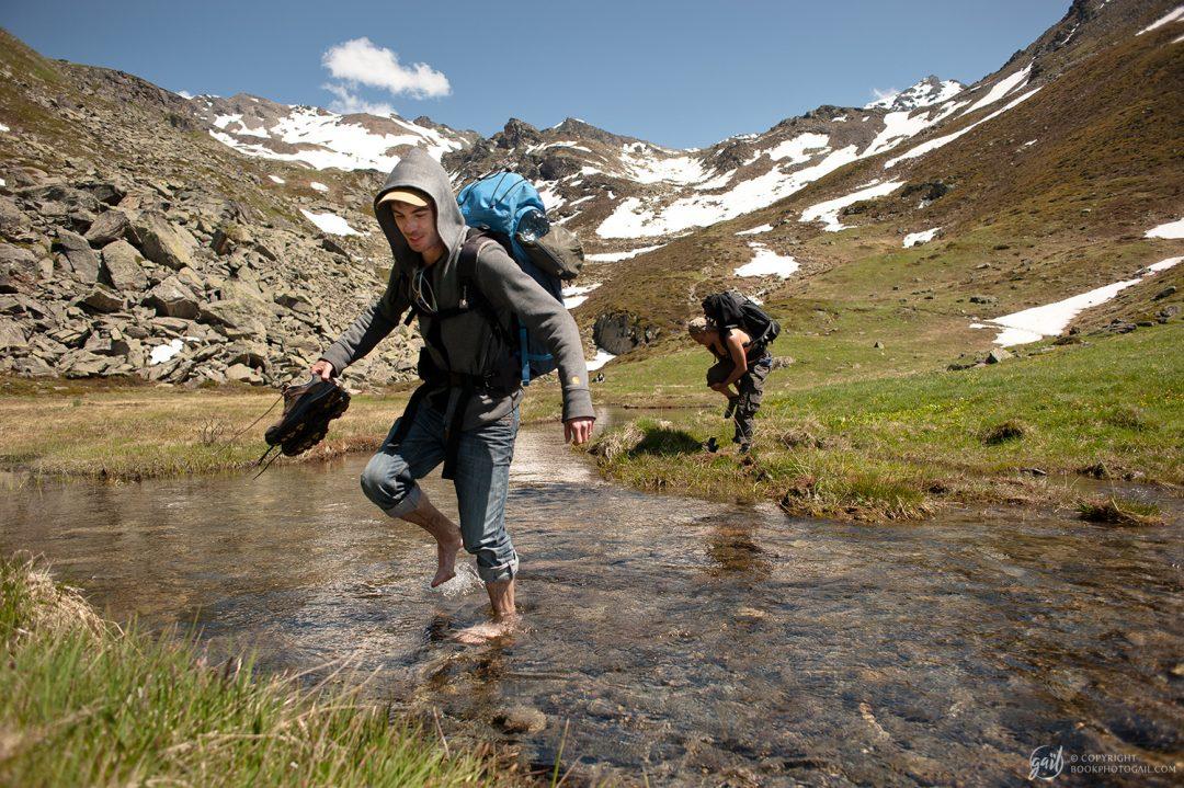 Randonnée dans le Massif du Thabor - Sur le chemin du col des marches