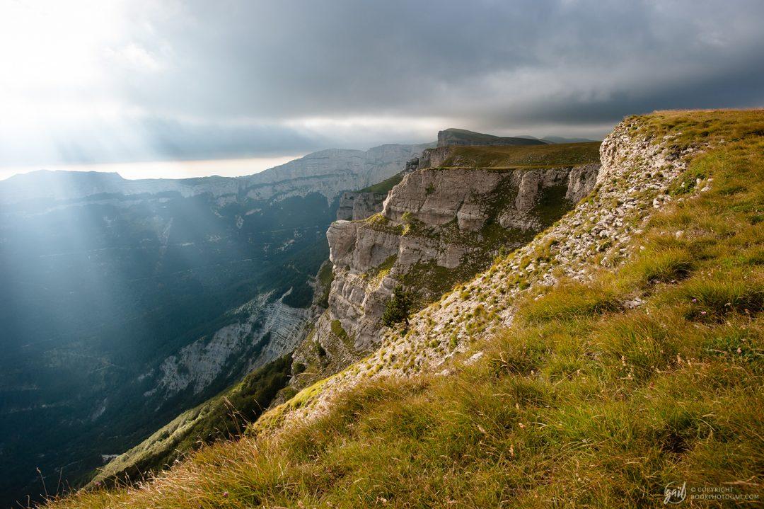 Les falaises du plateau de Font d Urle