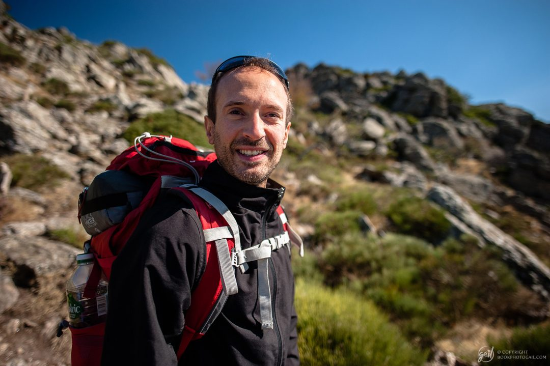 Florian, randonneur du Languedoc