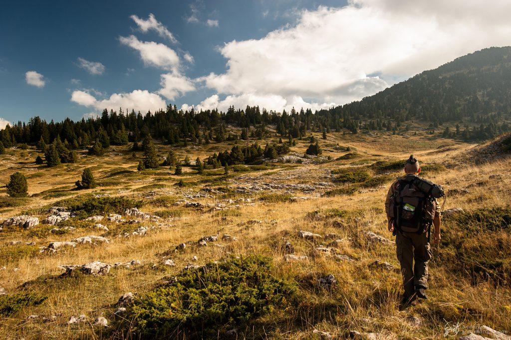 Randonnée dans la réserve des Hauts Plateaux du Vercors