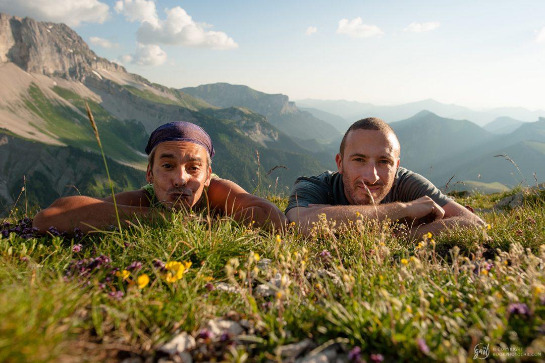 Les plus beaux randonneurs des Alpes