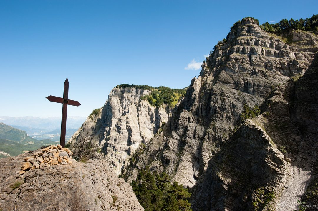 Montée du Pas de l Aiguille dans le Vercors
