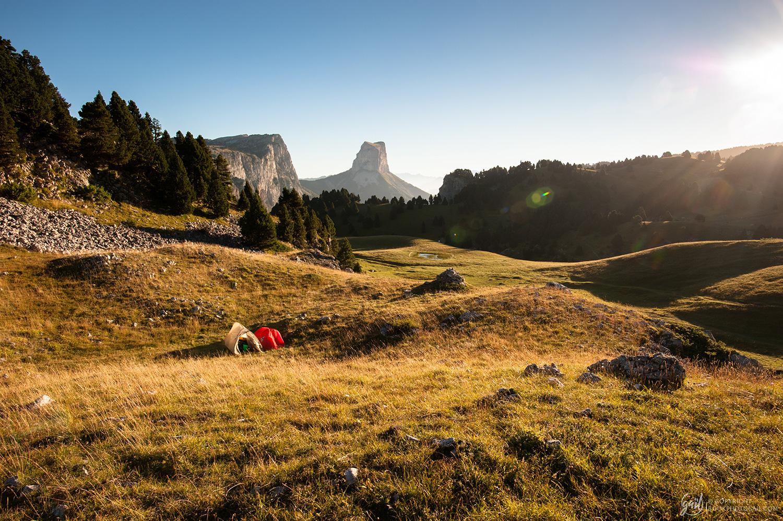 Le Mont Aiguille, mythique sommet du Vercors