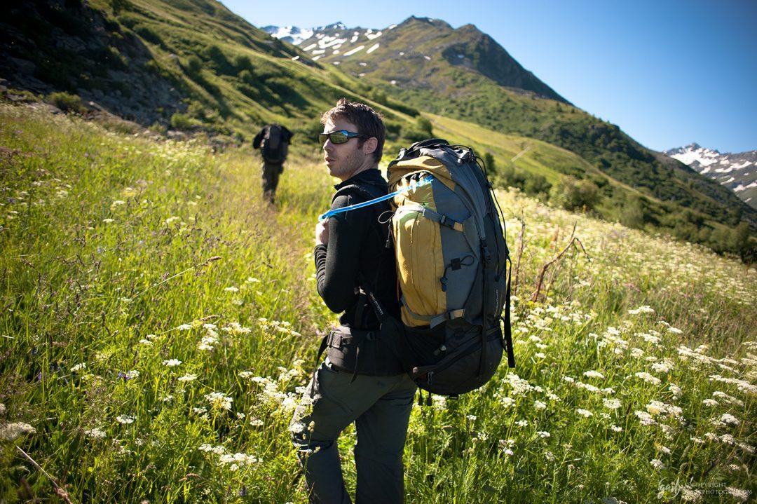 Départ du tour du Thabor : en route pour le Col des Marches