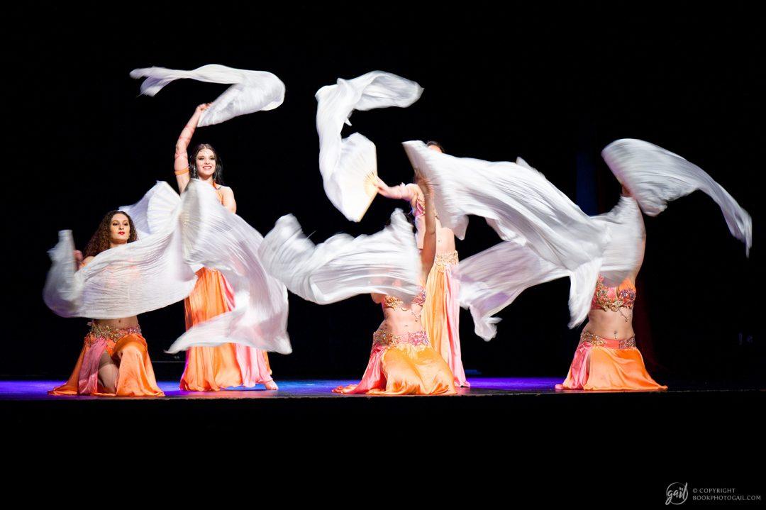 Spectacle de danse tribale