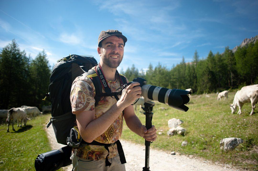 Alex, photo rando-reporter des Alpes