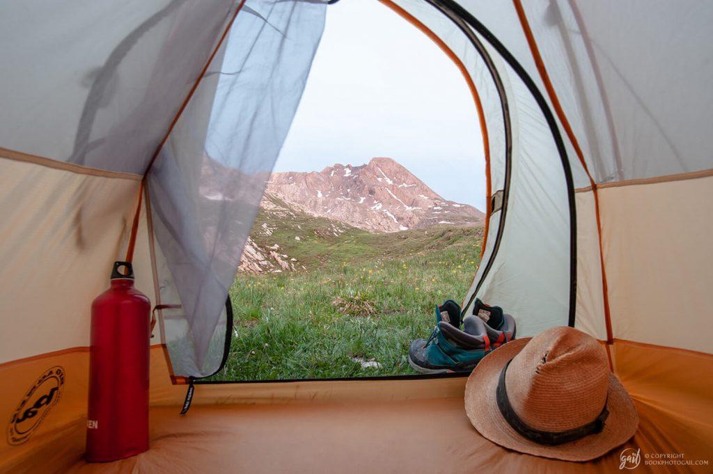 Bivouac dans le Queyras : chambre avec vue