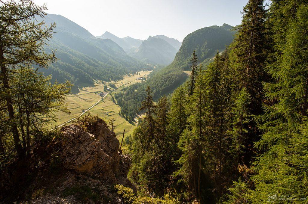 La vallée de Ceillac au cœur du parc du Queyras