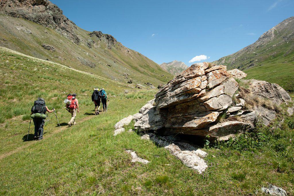 Les alpages de la haute vallée de l'Ubaye