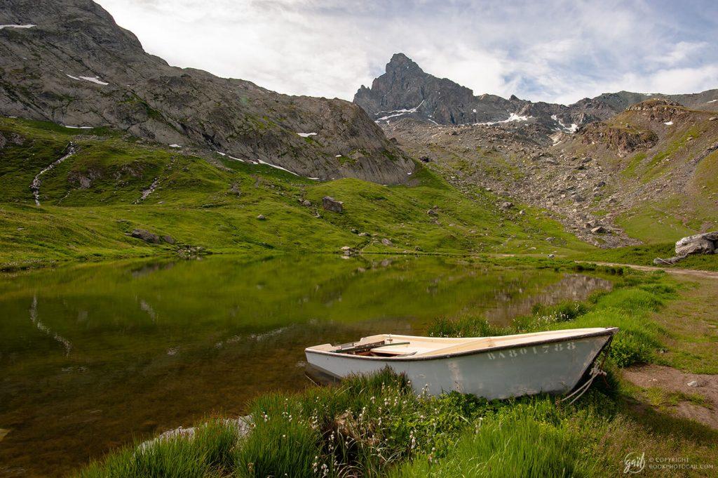 Le Lac de la Blanche et la Tête des Toillies