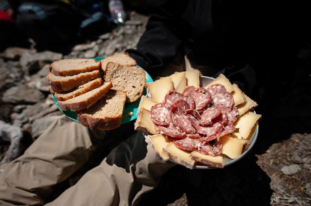 Le déjeuner gastronomique en haute montagne
