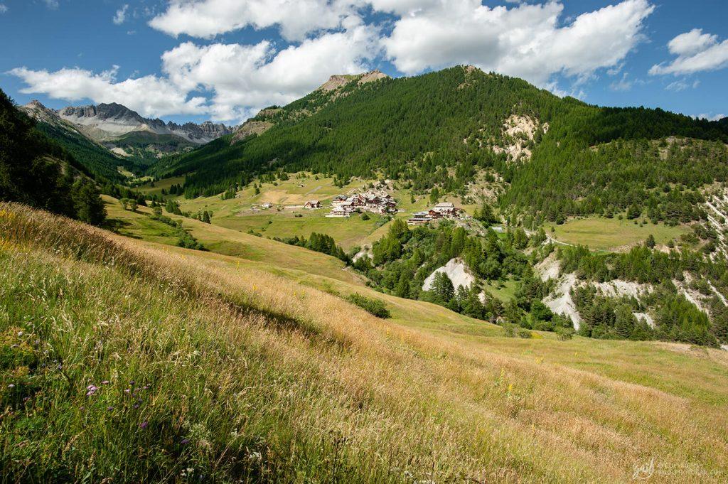 Le joli village du Queyras de Souliers